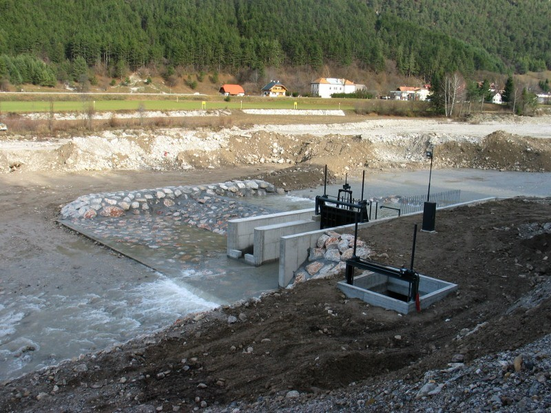 opere di presa centrale idroelettrica