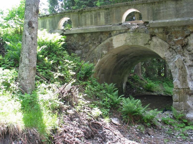 ponte da consolidare sulla strada per Pramollo