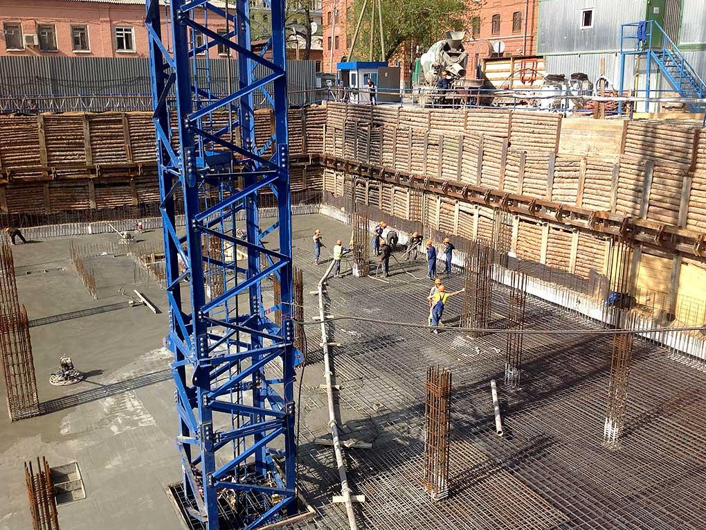 cantiere scavo fondazioni