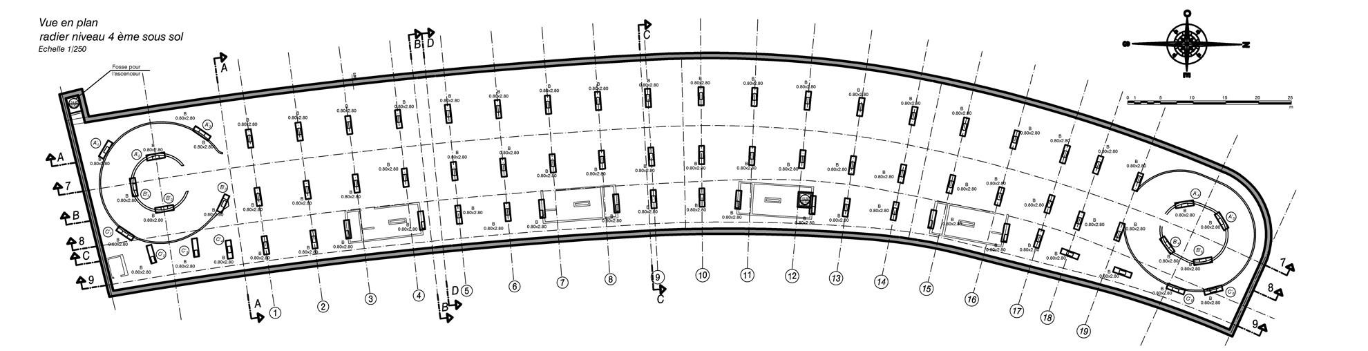 disegno pianta del progetto