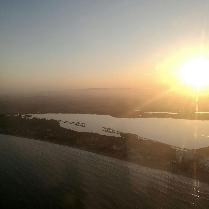 viadotto del Gran Manglar vista aerea